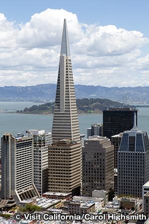 マーク・ホプキンス・サンフランシスコからの眺め