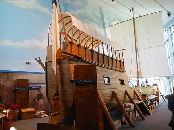 ルイス・クラーク探検隊の船
