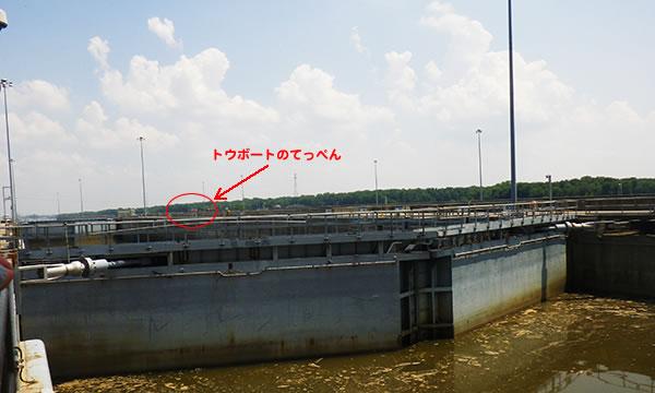 メルヴィン・プライス水門&ダム Melvin Price Locks & Dam