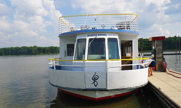 ミシシッピ川とイリノイ川をクルージング