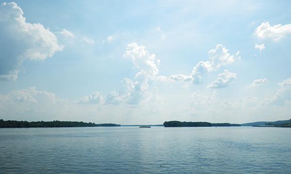 ミシシッピ川とイリノイ川