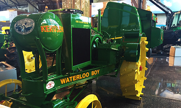 Waterloo Boy tractors