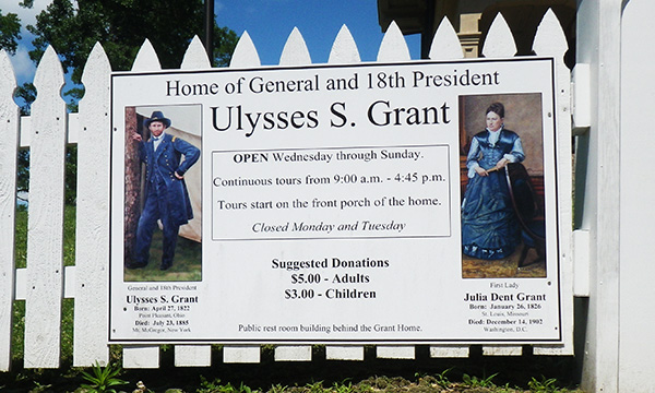 グラント大統領の家