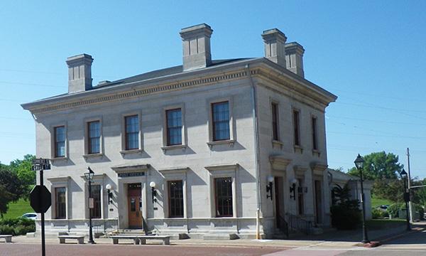ガリーナのメインストリート 郵便局