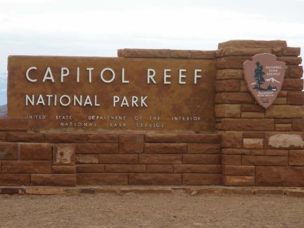 キャピトルリーフ国立公園に戻ってきました