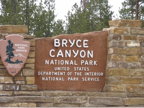 ブライスキャニオン国立公園にやってきました