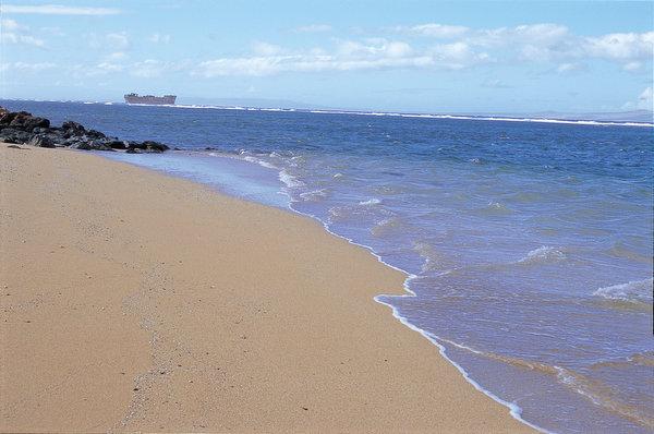 シップレックビーチ 難破船が浮かぶビーチ