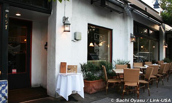 イタリアレストランの「AZU」