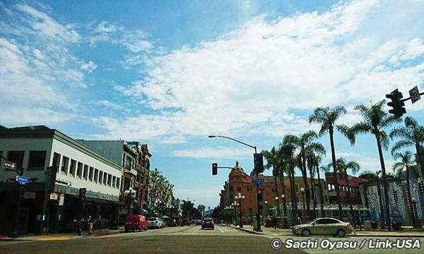 サンディエゴ カリフォルニア発祥の地へ走る