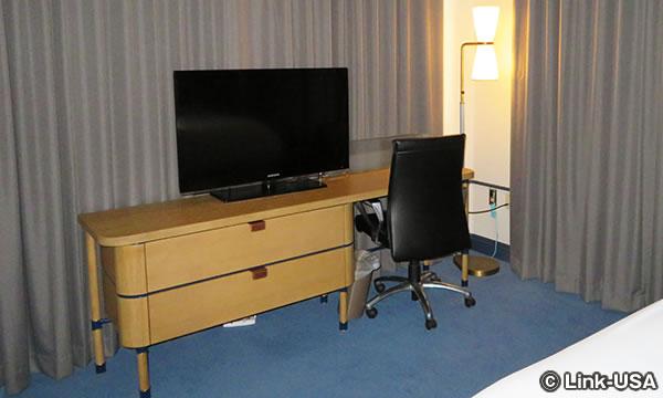 マディソン ホテルの部屋の様子