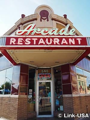 アーケード レストラン