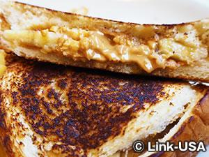 ピーナッツバター&バナナ サンド Peanut Butter'n'Banana