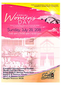 ANNUAL WOMEN'S DAY