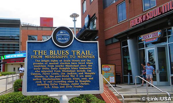 The Blues Trail に関するマーカー