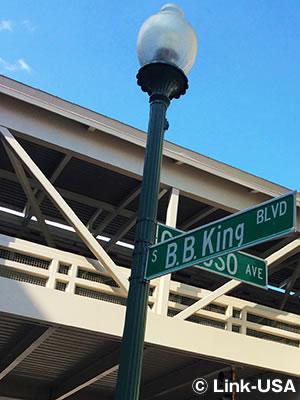 B.B.キング ブルーバードのクロスロード(十字路)