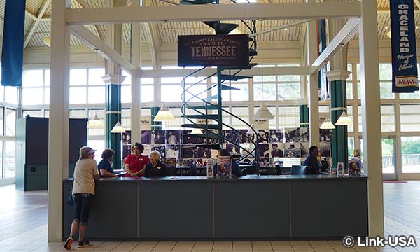 テネシー ウェルカム センター に寄ってみた。