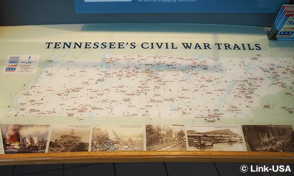 テネシー州の南北戦争 TENNESSEE CIVIL WAR