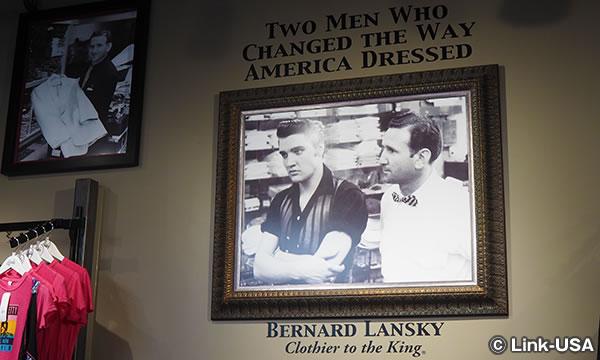 エルビス プレスリーとバーナード ランスキー