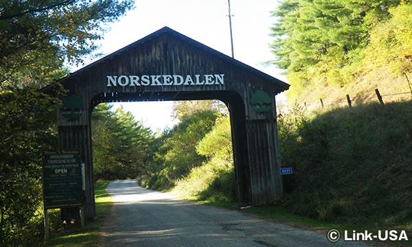 ノースクデールン・ネイチャー & ヘリテージ・センター(Norskedalen Nature & Heritage Center)