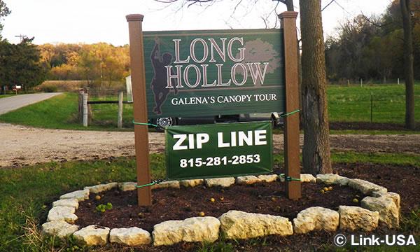 LonghollowでZipline