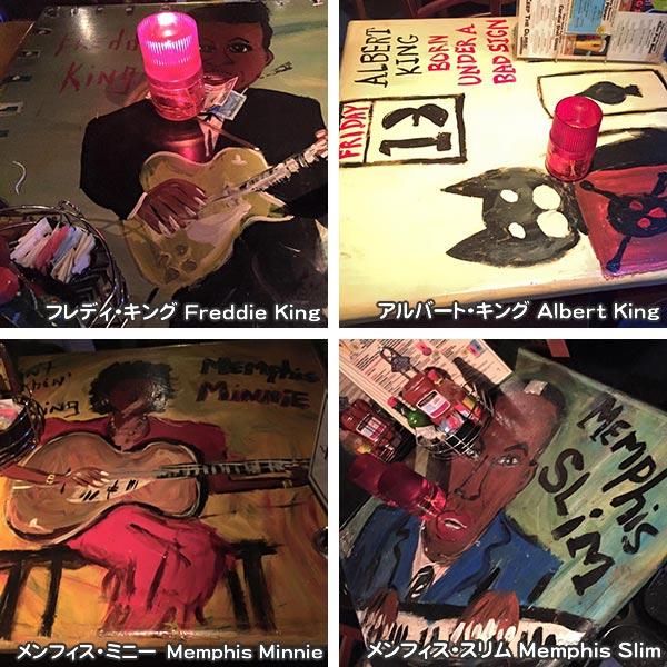 B.B.King Club のテーブル