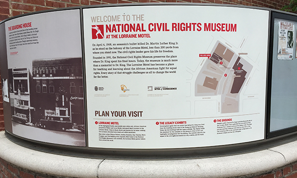 国立市民権博物館 National Civil Rights Museum