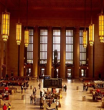 列車を利用してニューヨークやワシントンD.C.へ