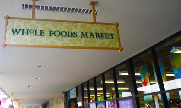 カハラ・モールの Whole Foods Market