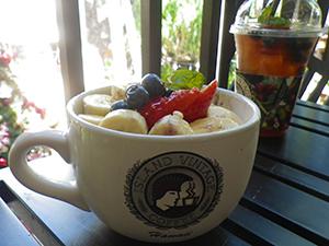 アイランド・ビンテージで朝食