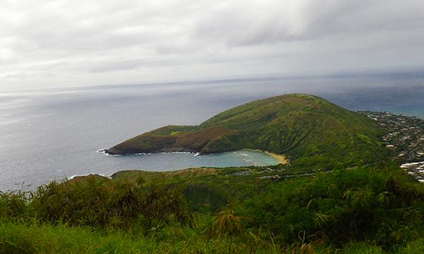 ココヘッドの山頂からの眺め