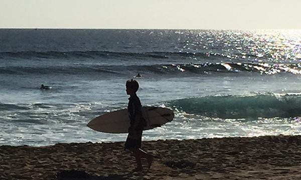 ジュニアのサーフィン大会