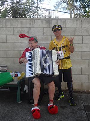 ホノルルマラソン 応援