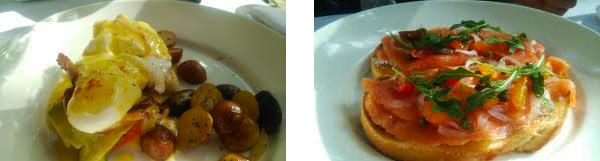 イルルピーノで朝食