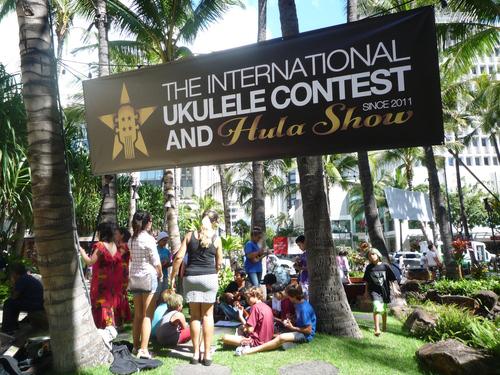 ウクレレ・イベントの旅 2016 インターナショナル ウクレレ コンテスト