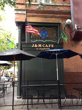 J & M CAFE & CARDROOM