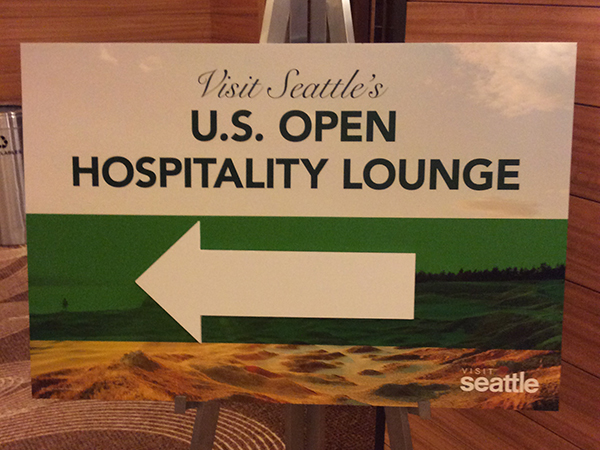 US-OPEN観戦とシアトル観光 – シアトルに到着 --