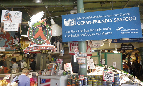 World Famous Pike Place Fish Market