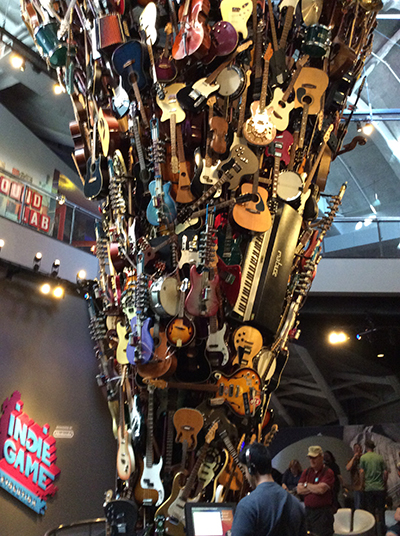 US-OPEN観戦とシアトル観光 – EMP Museum –