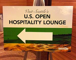 US-OPEN観戦とシアトル観光 - 2日目の朝 -
