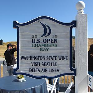 US-OPEN観戦とシアトル観光 - US-OPEN US-OPE 練習ラウンド -