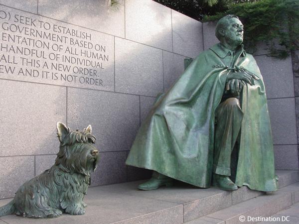 フランクリン・D・ルーズベルト記念公園 Franklin Delano Roosevelt Memorial