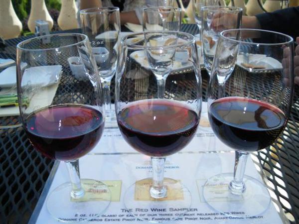 カリフォルニアワインで乾杯!